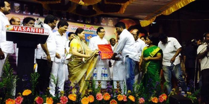 இந்திய தேசிய காங்கிரஸ் கட்சியின் 130–வது ஆண்டு தொடக்க விழா