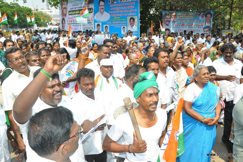 23.03.15-Protest-against-bjp-land-grabbing-bill-2