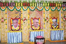 இன்று (2.10.2015) அன்னல் மகாத்மா காந்தியடிகள், லால் பகதூர் சாஸ்திரி ஆகியோர்களின் பிறந்த நாள் மற்றும் பெருந்தலைவர் காமராஜர் அவர்களின் நினைவு நாள்