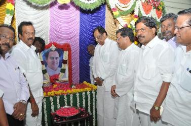 அமரர் ராஜீவ் காந்தியின் அவர்களின் 25 வது நினைவு தினம்.